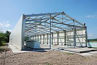 Проекты зданий из металлоконструкций готовые