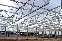 Строительство завода по производству металлоконструкций