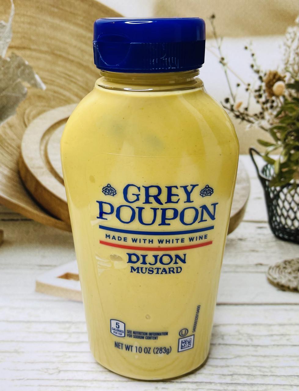 Горчица Grey Poupon Dijon Mustard настоянная на белом вине