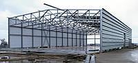 Строительство гаража из металлоконструкций