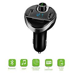 Авто FM модулятор Car X19 Bluetooth + USB + microSD, трансмітер для авто