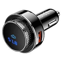 Авто FM модулятор HOCO DGC16 Bluetooth USB microSD трансмітер для авто
