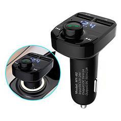 Авто FM модулятор Car X8 Bluetooth + USB + microSD, трансмітер для авто