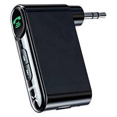 Бездротовий аудиоадаптер AUX в авто BASEUS Bluetooth Qiyin AUX трансмітер