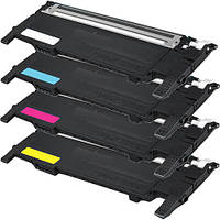 Картридж лазерный совместимый Samsung (CLT-C406S) CLP-360, 365, CLX-3300, 3305 Cyan
