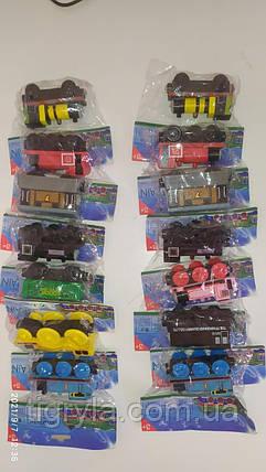 Томас и его друзья Игрушки набор деревянных паровозиков и вагончиков на магнитах, фото 2