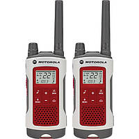 Рація Motorola Talkabout T482 Rechargeable Emergency Preparedness 2-Way Radio (White/Red, Pair) (T482)
