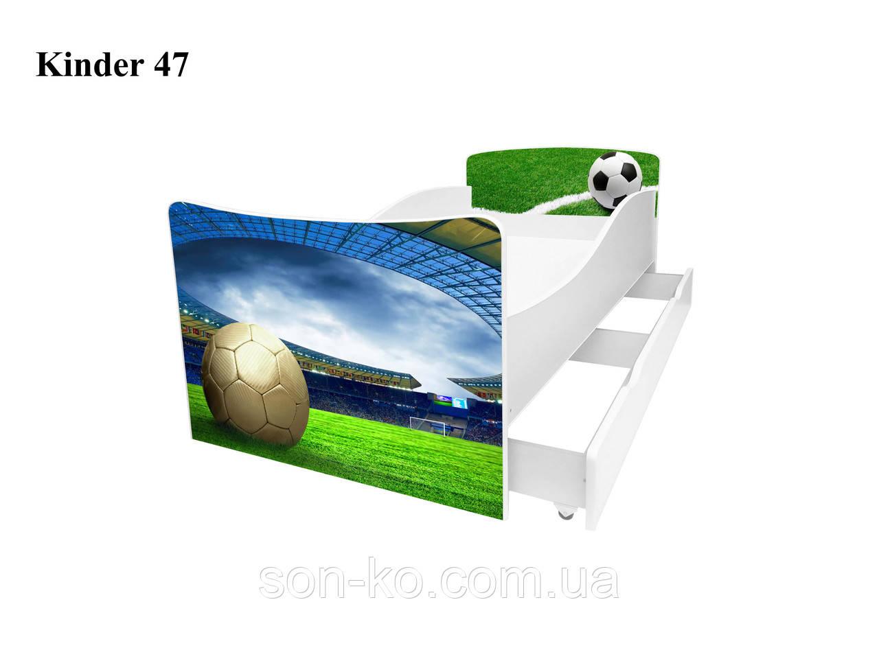 Кровать детская Киндер Футбол. Бесплатная доставка