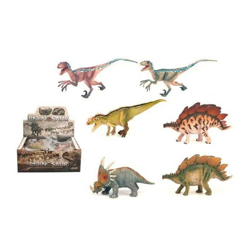 Динозавр іграшковий KZ956-203D, гумовий