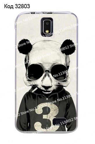 Чехол для lenovo a328 панель накладка с рисунком панда