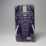 Чехол для lenovo a328 панель накладка с рисунком бабочки, фото 7