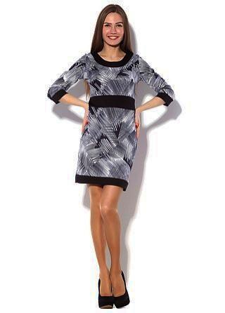 Женское платье Забава штрихи.