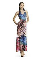 Стильное платье-сарафан в пол с открытой спинойтильное платье-сарафан в пол с открытой спиной. Лилия