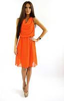 Сарафан Ангелина оранжевого цвета .