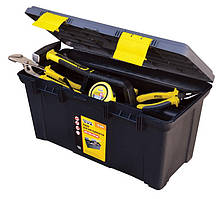 "Ящик для инструмента MASTERTOOL 19.5"" (500х250х255 мм) пластиковые замки 79-2212"