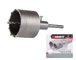 Сверло корончатое GRANITE для бетона 80 мм 10 зубцов с хвостовиком 22х110 мм SDS-PLUS 2-08-080