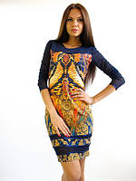Нарядное короткое  женское платье. Платье Нави