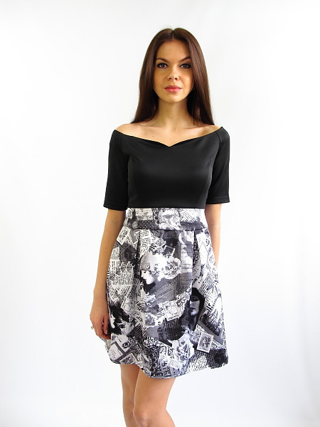 Коктейльное платье Винтаж