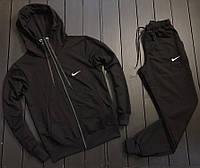 Мужской спортивный костюм Nike серый, Найк