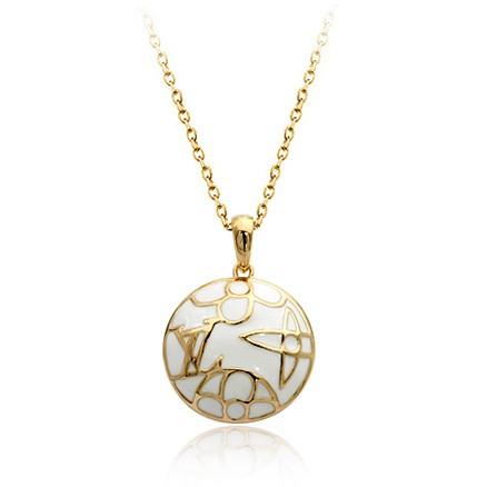 Кулон LOUIS VUITTON ювелирная бижутерия золото 18к