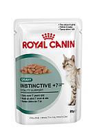 Консерва для кошек старше 7 лет Royal Canin INSTINCTIVE +7, 85 г