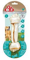 Кость для чистки зубов собак 8in1, 20 см