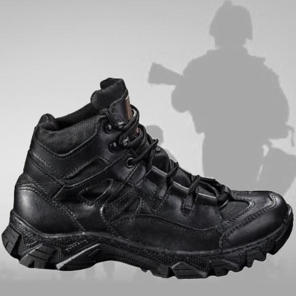 Ботинки Берцы Военные Тактические 36-43р демисезон Черный