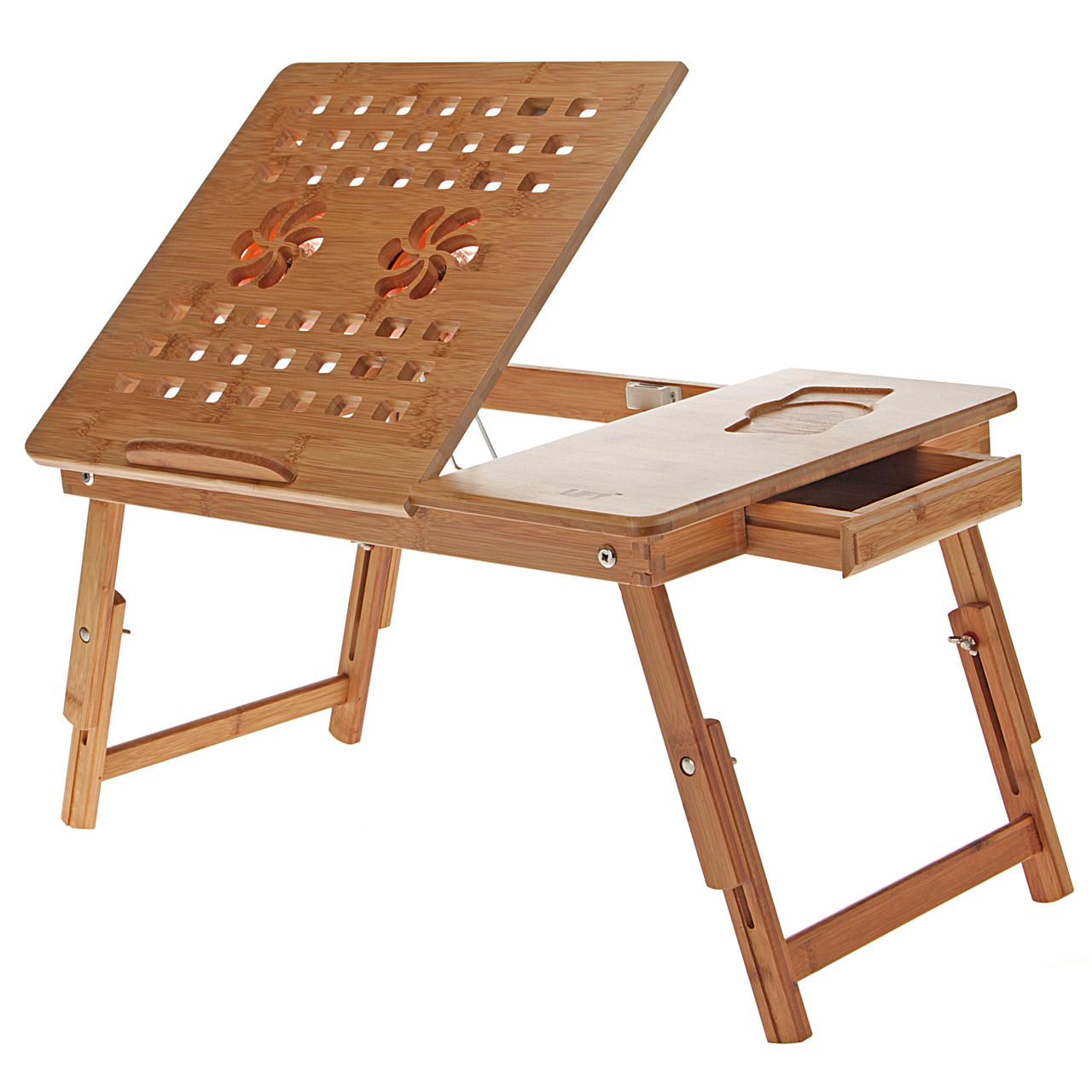 Бамбуковый столик для ноутбука UFT T28, фото 1