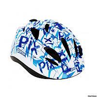 Шлем детский Pix Tempish, голубой, размер М(54-57)