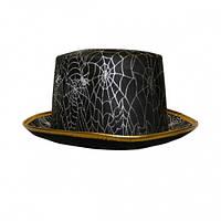 Шляпа Цилиндр паутина