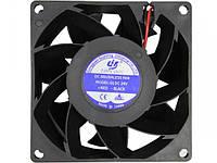 Вентилятор охлаждающий для сварки 24V DC 80х80х38 мм/ 0,43А Turbo