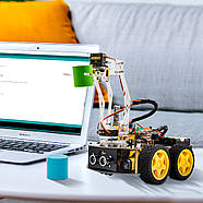 Роботизированный конструктор Ардуино 3 в 1 умный автомобиль манипулятор рука, фото 3
