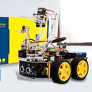 Роботизированный конструктор Ардуино 3 в 1 умный автомобиль манипулятор рука, фото 2