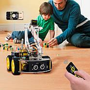 Роботизированный конструктор Ардуино 3 в 1 умный автомобиль манипулятор рука, фото 5