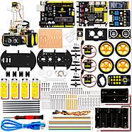 Роботизированный конструктор Ардуино 3 в 1 умный автомобиль манипулятор рука, фото 4