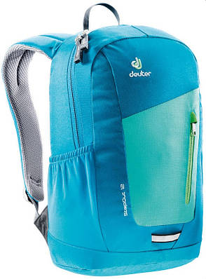Яркий рюкзак Deuter StepOut 12, 3810215 2307 бирюзовый 12 л