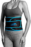 Пояс для похудения PowerPlay 4303 черно-синий