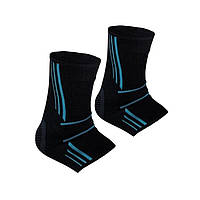 Спортивні бандажі на голеностоп Power System Ankle Support Evo PS-6022 Black/Blue XL
