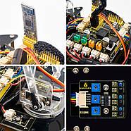 Роботизированный конструктор Ардуино 3 в 1 умный автомобиль манипулятор рука, фото 7