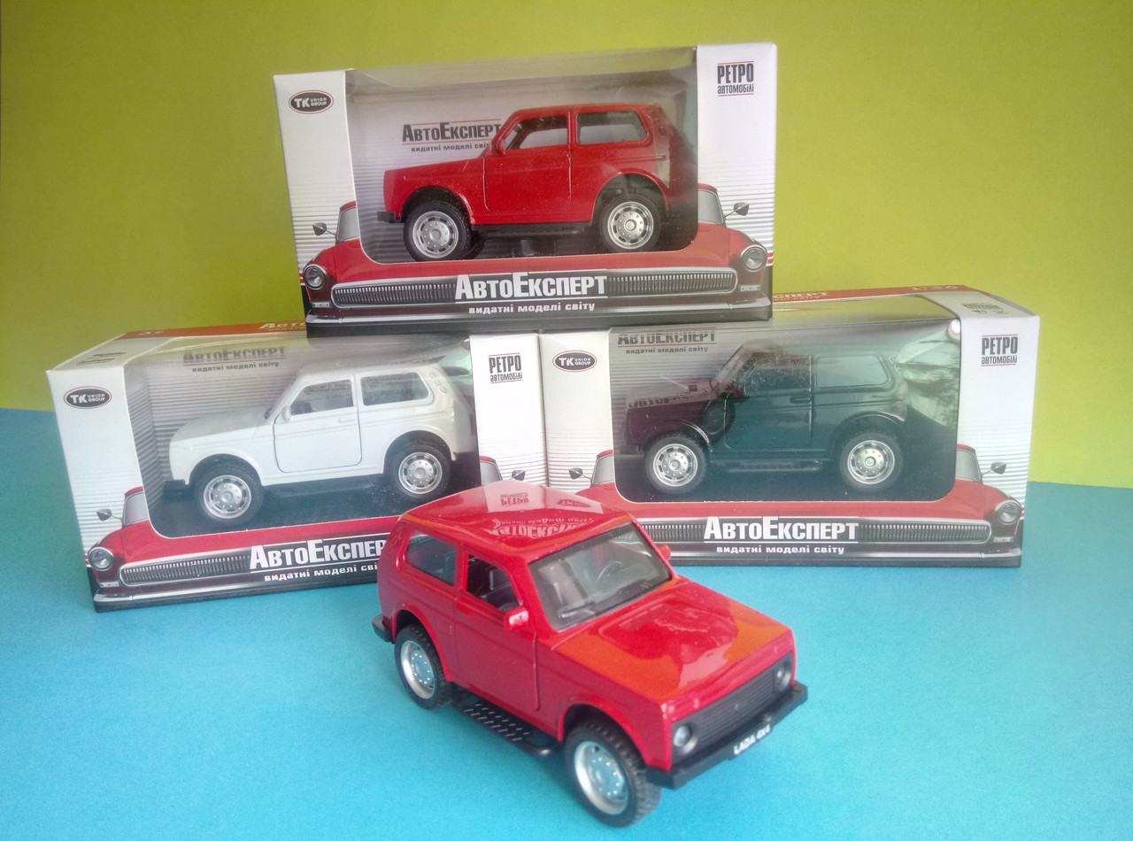 Іграшка ВАЗ Лада Нива Auto Expert