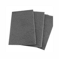 Абразивный материал на волоконной основе (скотч-брайт) SMIRDEX, серый