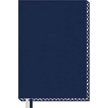 Ежедневник недатированный в мягком переплете 320с Yes А5 Generic Синий (252078)