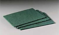 Абразивный материал на волоконной основе (скотч-брайт) SMIRDEX, зеленое
