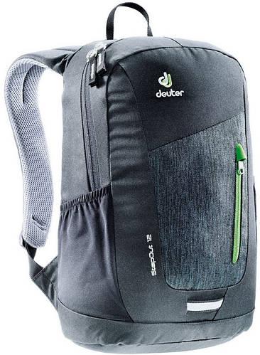Молодежный городской рюкзак 12 л. DEUTER StepOut 12 , 3810215 7712 черный