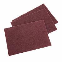 Абразивный материал на волоконной основе (скотч-брайт) SMIRDEX, красное