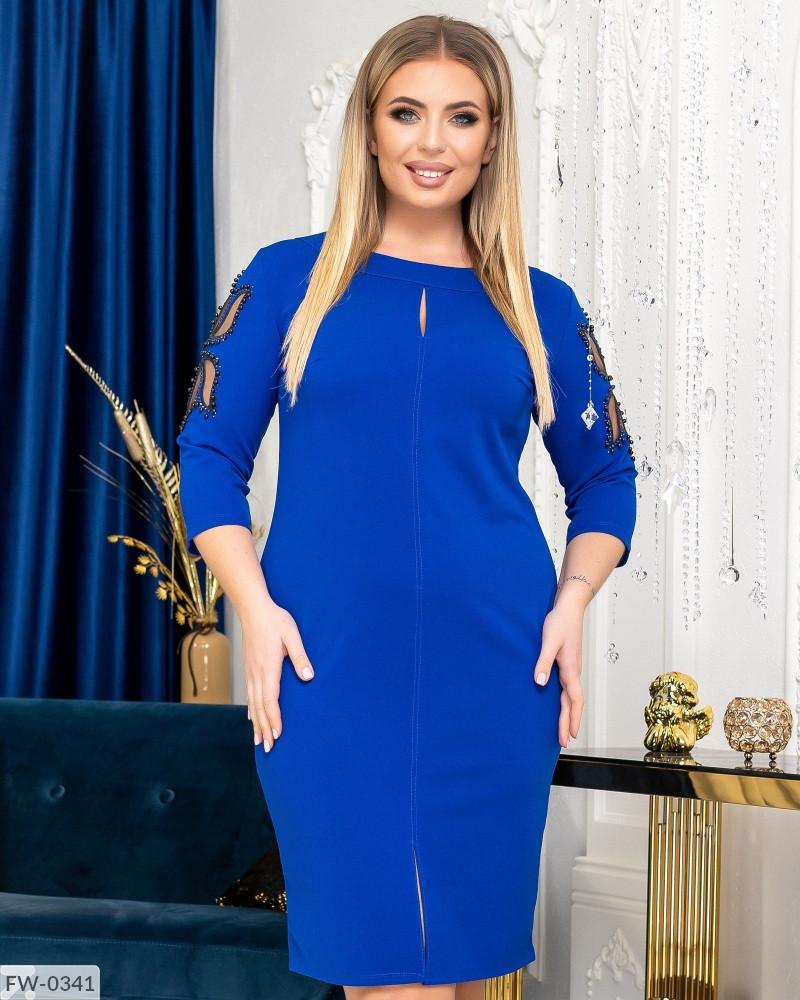Женское Силуэтное Платье 52, 54