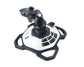 Джойстик Logitech Extreme 3D Pro (942-000031) черно-белый USB