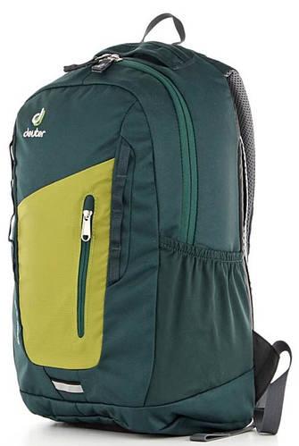 Практичный молодежный городской рюкзак DEUTER StepOut 16, 3810315 2219 зеленый
