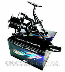 Карповая катушка с бейтранером  EOS Powerfull Carp 9000