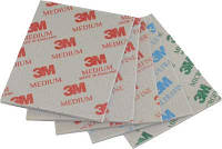 Абразивная губка Softback 3M, 115x140мм,Superfine (супертонкая), P400, фото 1